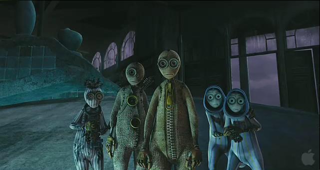Nine - Characters